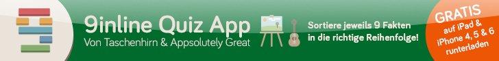 Alles über Fußball im Überblick auf Taschenhirn.de - Quiz mit 9inline Quiz App